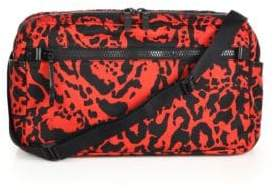 Alexander McQueen Printed Tech Crossbody Bag