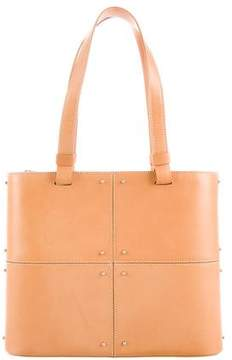 Tod's Embellished Leather Tote