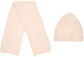 Chloé Knitted Hat And Scarf Set