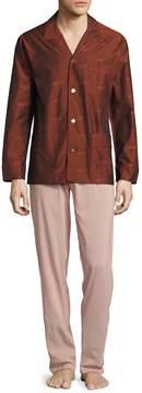 La Perla Men's Cotton Pajama Set