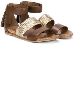UGG zip-up sandals
