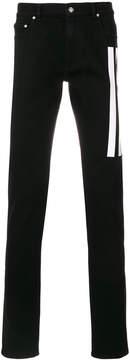 Kenzo striped straight-leg jeans