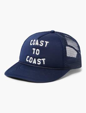Lucky Brand COAST TO COAST TRUCKER HAT