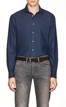Boglioli Men's Cotton Piqué Shirt