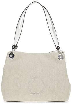 Michael Kors Raven Large Shoulder Bag - Natural - ONE COLOR - STYLE