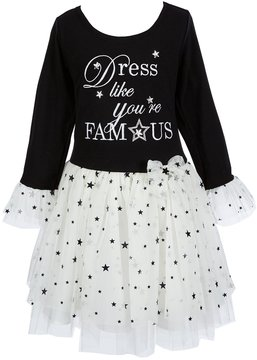 Bonnie Jean Little Girls 2T-6X Dress Like You re Famous Tutu Dress