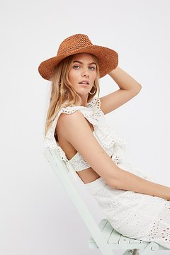Mellow Mood Packable Straw Hat by Free People
