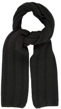 John Varvatos Rib Knit Wool Stole