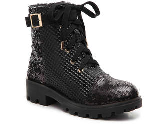 Bamboo Tread Combat Boot - Women's