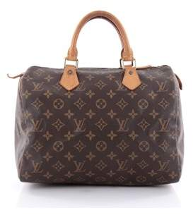 Louis Vuitton Pre-owned: Speedy Handbag Monogram Canvas 30.