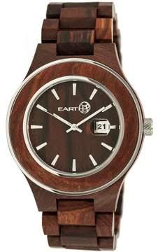 Earth Cherokee Collection ETHEW3403 Unisex Wood Watch with Wood Bracelet-Style Band