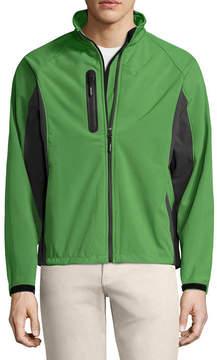 Asstd National Brand Colorblock Jckt Softshell Jacket