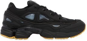 Adidas By Raf Simons Ozweego Iii Canvas & Leather Sneakers