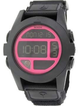 Nixon Men's Baja A489480 Black Nylon Quartz Watch