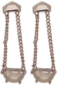 Botkier Stone Chain Linear Drop Earrings