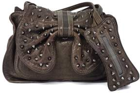 3.1 Phillip Lim Leather & Metal Studded Purse