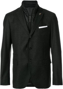 Paoloni padded layer blazer