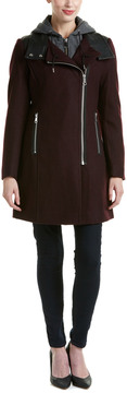 Andrew Marc Wool-Blend Coat