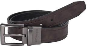 Columbia Brown Reversible Belt w/ Logo Buckle