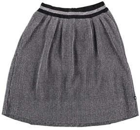 Molo Birdie Metallic Pleated Skirt, Size 3T-14