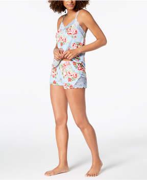 Flora Nikrooz Flora by Printed Cleo Cami & Pajama Shorts Set