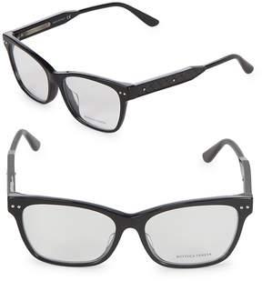 Bottega Veneta Women's 53MM Optical Glasses