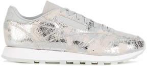 Reebok metallic coated sneakers
