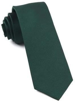 The Tie Bar Grosgrain Silk Tie