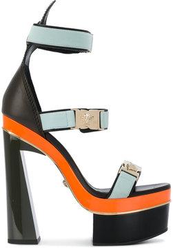 Versace Medusa strap platform sandals