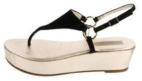 Michael Kors Slingback Platform Wedge Sandals