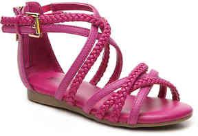 MICHAEL Michael Kors Girls Demi Ayla Toddler Gladiator Sandal