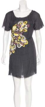 Behnaz Sarafpour Silk Mini Dress