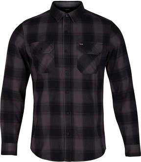 Hurley Men's Clemens Plaid Flannel Twill Shirt