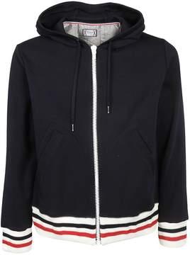 Moncler Gamme Bleu Zipped Hooded Jacket