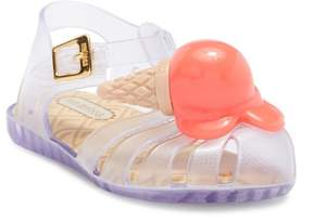 Mini Melissa Aranha X Slingback Sandal (Toddler & Little Kid)
