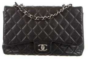 Chanel Caviar Classic Jumbo Single Flap Bag