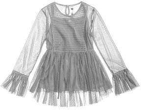 Beautees 2-Pc. Smocked Top & Camisole Set, Big Girls