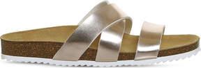 Office Sydney cross strap faux-leather sandal