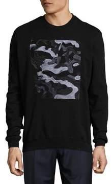Markus Lupfer Abstract Embellished Sweatshirt