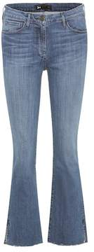 3x1 W25 mid-rise cropped jeans