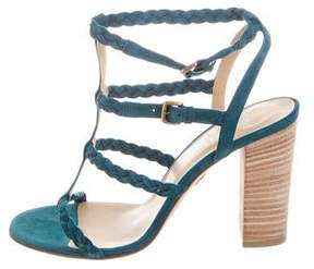 Ritch Erani NYFC Suede Multistrap Sandals w/ Tags