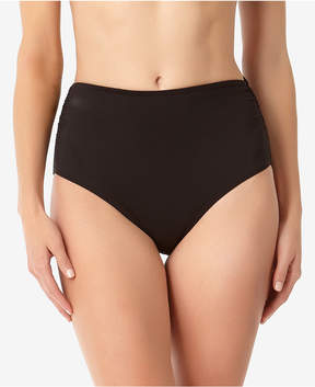 Anne Cole Live In Color High-Waist Bikini Bottoms,A Macy's Exclusive Style Women's Swimsuit