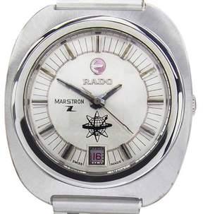 Rado Marstron Stainless Steel Quartz Vintage 36mm Mens Watch