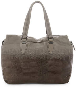 Liebeskind Berlin Yamagata Lizard Embossed Leather Satchel