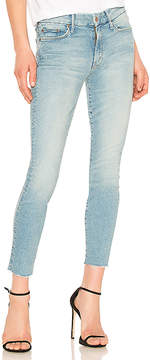 Mother The Looker Ankle Fray Jean.