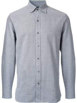 Kent & Curwen houndstooth print poplin shirt