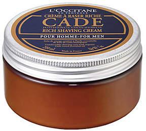 L'Occitane Cade Rich Shaving Cream, 7 oz