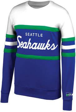 Mitchell & Ness Men's Seattle Seahawks Head Coach Crew Sweatshirt
