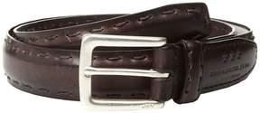 John Varvatos Feather Edge w/ Pick-Stitch Belt Men's Belts