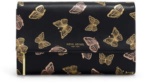 Henri Bendel Girls Night Out Butterfly Printed Clutch